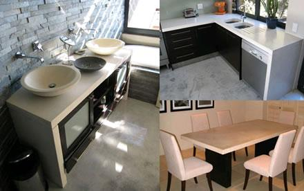 Stoneform Custom Cast Concrete Countertops Offered For